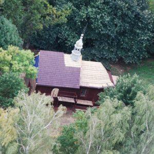 21. 2015 r. Remont kościółka- dach, elewacja