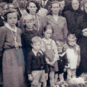 1956 r. Pogrzeb dziecka.