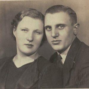 Helena Bryl z kuzynem