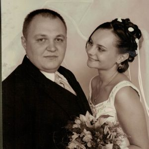 2002 r.Sylwia i Mariusz Kwaśni