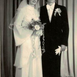1977 r. Janina i Jan Perkowscy