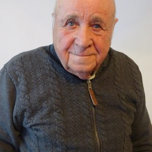 2018 r.Tadeusz Kostański świadek wydarzenia z 20.09.1939 r. w Dobrowie