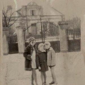 Plebania w 1970 r.