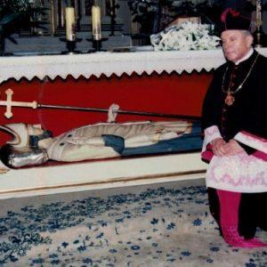 Ks. Józef Osyda 1976-1996 czciciel Błogosławionego