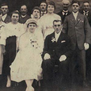1920 ślub Państwa Graczyków