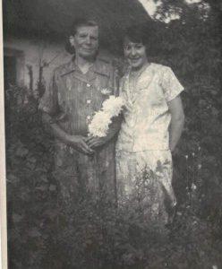 Jadzia Ordutowska z mamą.
