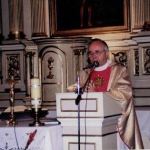Ks. Andrzej Kaczmarek na parafii od 200-2009 r.