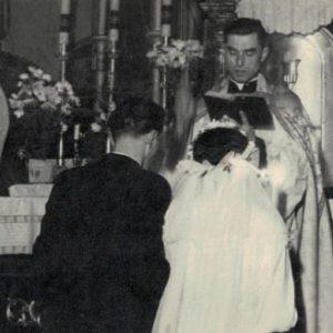 1954 r. państwo Krystyna i Czesław Łajdeccy
