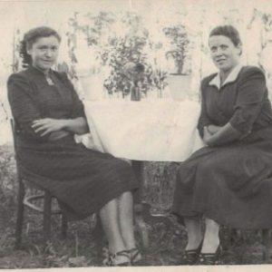 Krystyna Łajdecka i Teresa Antosik