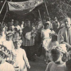 1971 r. Biskup Andrzejewski
