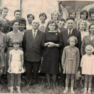 Chór parafialny w latach 60 i 70-tych