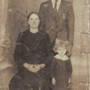 Kokorzycki Józef z matką