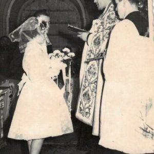 1967 r. Ślub Czesławy Gronowalskiej