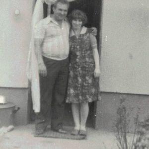 Bogumił Gronowalski z żoną