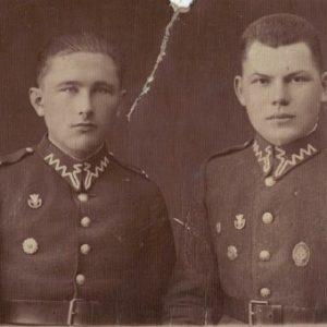 1930 r. czynna służba wojskowa z prawej strony Czesław Kokorzycki