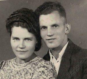 Anna Kokorzycka i Gerard Kołodziejek