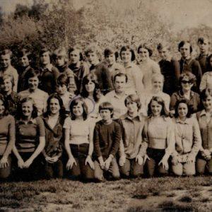 1961 w szkole w Ruszkowie Pierwszym