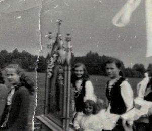 1969 -Basia Antosik, Grażyna Lubaczewska, Basia Gralińska, Halina Kokorzycka