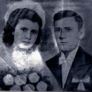 1945 r. Marianna i Henryk Perkowscy
