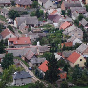 Zdjęcie w 2014 r. stara część Dobrowa