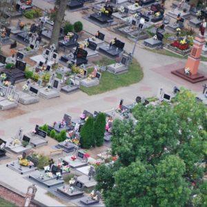 20. 2015 r. wygląd cmentarza