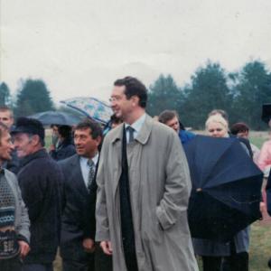 Wizyta Marka Pola na meczu w Dobrowie
