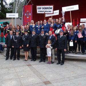 2015 r. Ogólnopolskie zawody strażackie w Polanicy Zdrój I miejsce Dobrów drużyna kobiet