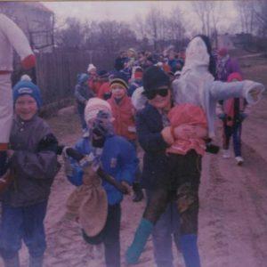 1989 r. I Dzień Wiosny- topimy Marzannę