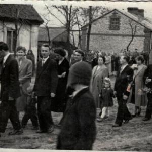 1960 r. orszak weselny