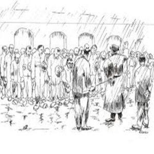 20 wrzesień 1939 r.- grupa żołnierzy niemieckich wkroczyła do Dobrowa. W tym dniu urządziła nagonkę na mężczyzn. Napotkanych po drodze spędzono na rynek pod parkan kościoła. Rezultatem nagonki padło 50 mężczyzn. Zostali ustawieni w siedmiu rzędach po siedmiu w celu rozstrzelania. Egzekucję rozpoczęto odliczaniem w tym momencie nadjechał Niemiec i wstrzymał egzekucję, informując, że ktoś w Dobrowie posiada broń. Przekazano, że odstąpią od egzekucji jeżeli ktoś wskaże posiadaczy broni. Wystąpił jeden odważny i powiedział że wie kto ma bron. Rozkazano rozejść się a Feliksa zabrano. Wskazał on braci Rosińskich do których musiał ich zaprowadzić. Broń została znaleziona ale trzech braci zostało zastrzelonych a zwłoki pozostawiono na widok publiczny.