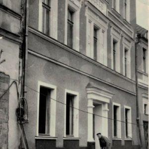 Brunon Kokorzycki przy odbudowie Zamku Królewskiego w Warszawie