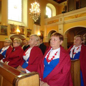 20.09.2019 r. Uroczyste obchody 80 rocznicy wydarzeń w Dobrowie z 20.09.1939 r. Msza święta za poległych trzech braci Rosińskich .